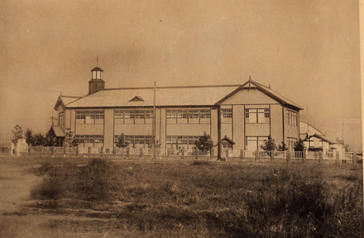 北陽商業 校舎